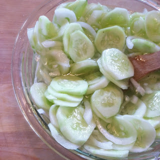 Quick Refrigerator Pickles and Onions