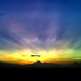 Cahaya Senja by Sony Arezki - Landscapes Weather