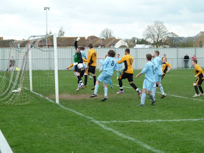 Photo: 03/04/11 - Woodside v Stotfold (Beds FA U18 Cup Final at Biggleswade Utd FC) 0-1 - contributed by Bob Davies
