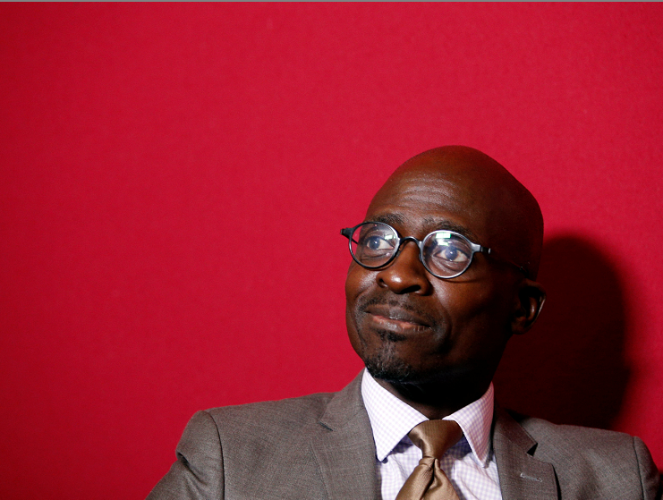 Malusi Gigaba speaks with journalists at the World Economic Forum on Africa 2017 meeting in Durban, South Africa. Picture: REUTERS