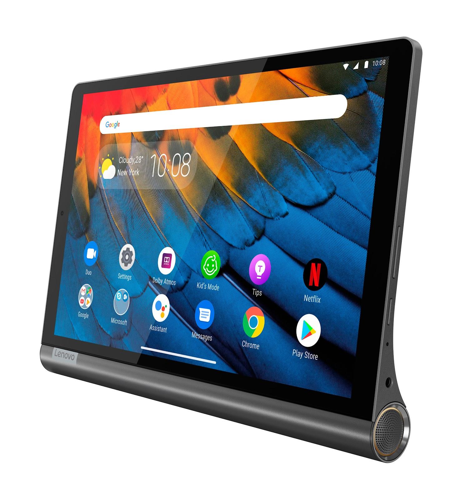 Фото 4. Планшет Yoga Smart Tab YT-X705F Iron Grey (ZA3V0019UA)