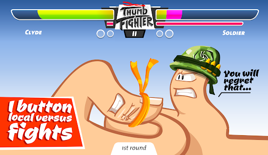 Thumb Fighter screenshot 13