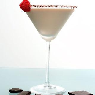 Raspberry Chocolate Cheesecake Martin.