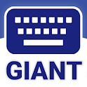 GIANT Text Keyboard icon