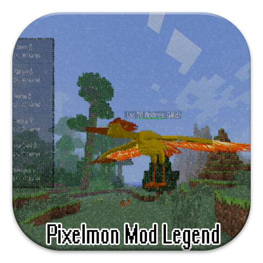 Pixelmon Mod Legend 書籍 App LOGO-APP開箱王