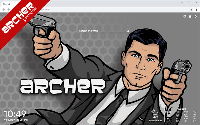 Archer New Tab