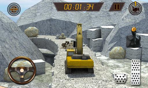 Hill Excavator Mining Truck Construction Simulator 1.2 screenshots 4