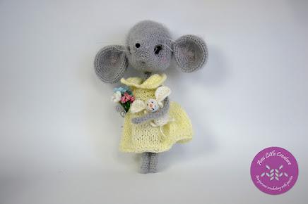Mouse Sofia by LittleOwlsHut
