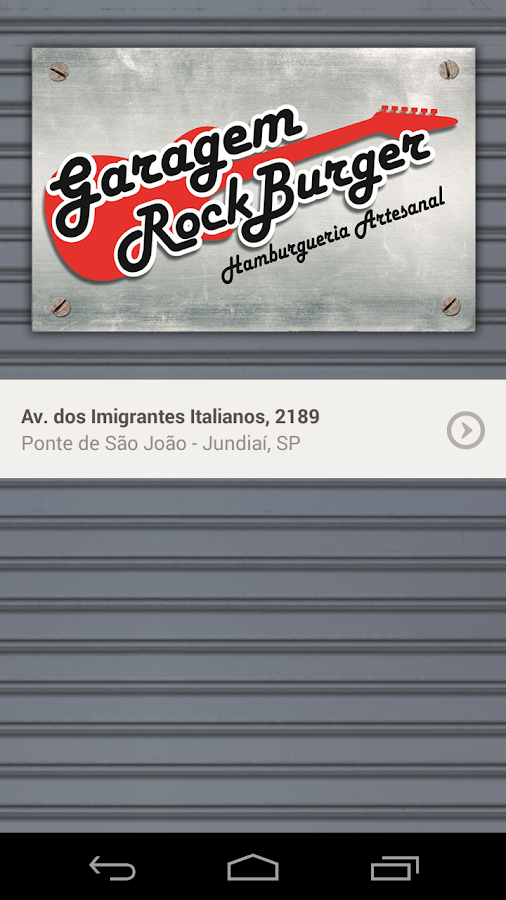 Garagem Rock Burger- screenshot