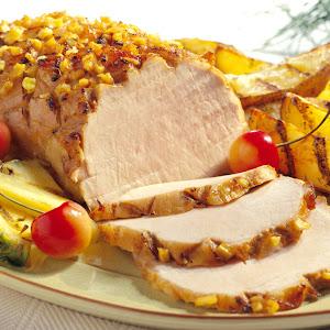 Honey-Pineapple Pork Roast