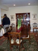Photo: 2010 December 5 Perkins Adams House (The Stockton House) 307 North Wall Street Home of Margaret Perkins & Rene Adams
