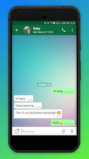 Download WhatsUp Baby Messenger - Only for couples For PC Windows and Mac apk screenshot 2