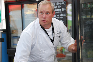 Photo: Christoffer Cassel, Official chef of the WC Stockholm 2011. Photo: Patric Fransson