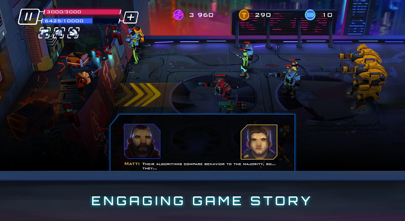 Uprising: Cyberpunk 3D Action Game Screenshot 3