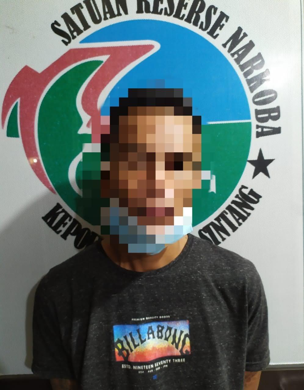Baru Bebas Seorang residivis Narkoba Tertangkap Lagi
