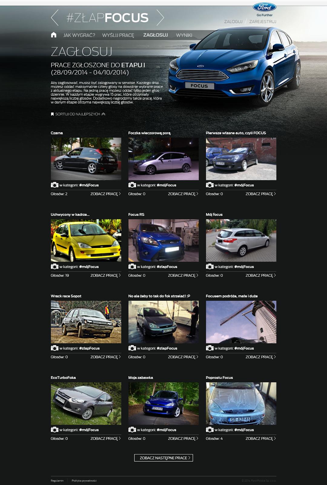 złapFOCUS – konkurs z okazji premiery nowego auta Ford Focus.png
