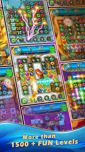Lost Jewels - Match 3 Puzzle apkpoly screenshots 2