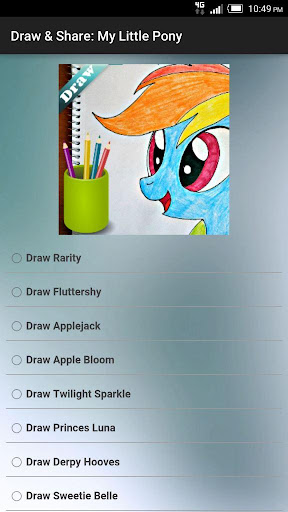 Draw Share: My Little Pony