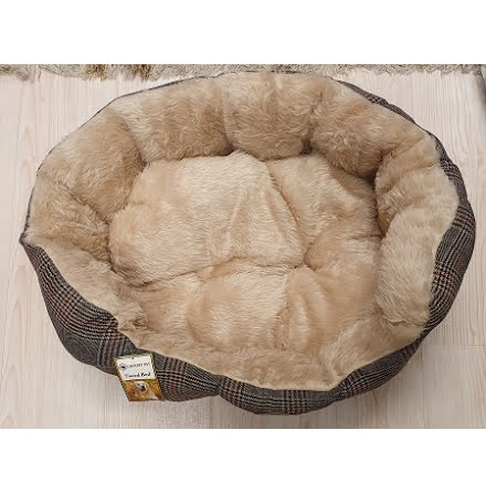 Country Pet Luxuary Tweed Hundbädd 70x55 cm