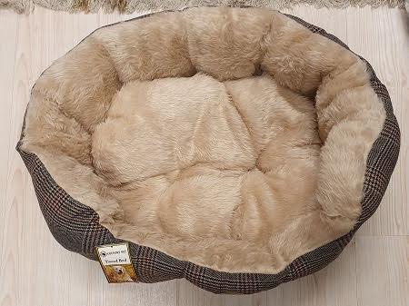 Country Pet Luxuary Tweed Hundbädd 70x55 cm