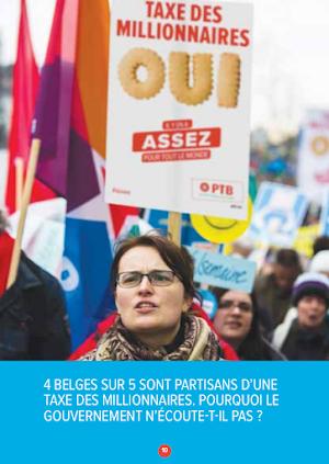 Vier von fünf Belgiern stehen für eine Millionärssteuer. Warum hört die Regierung nicht auf sie?