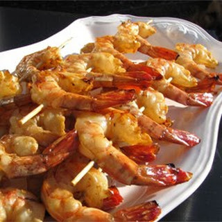 Honey Grilled Shrimp.