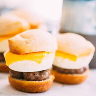 Muffin-Pan Breakfast Sliders.