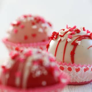 Valentine's Day Cake Balls.