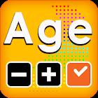 Calculadora de idade e tempo icon