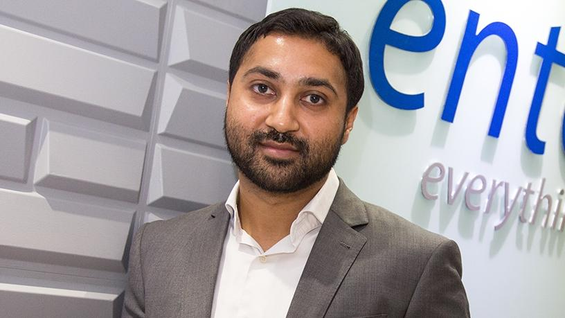 Shashi Hansjee, CEO of Entelect.