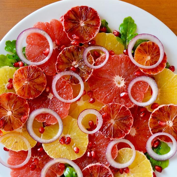 Citrus Salad with Honey Dressing