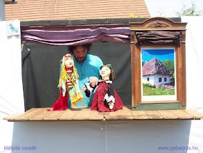 Photo: Mátyás és felesége az okos leány...