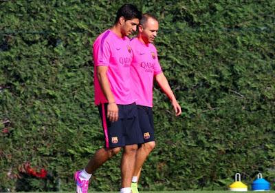 Luis Suarez sera bien présent pour le Clasico