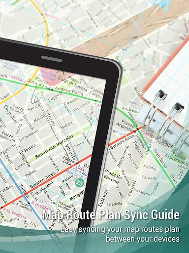 Maps Route Plan Sync Guide