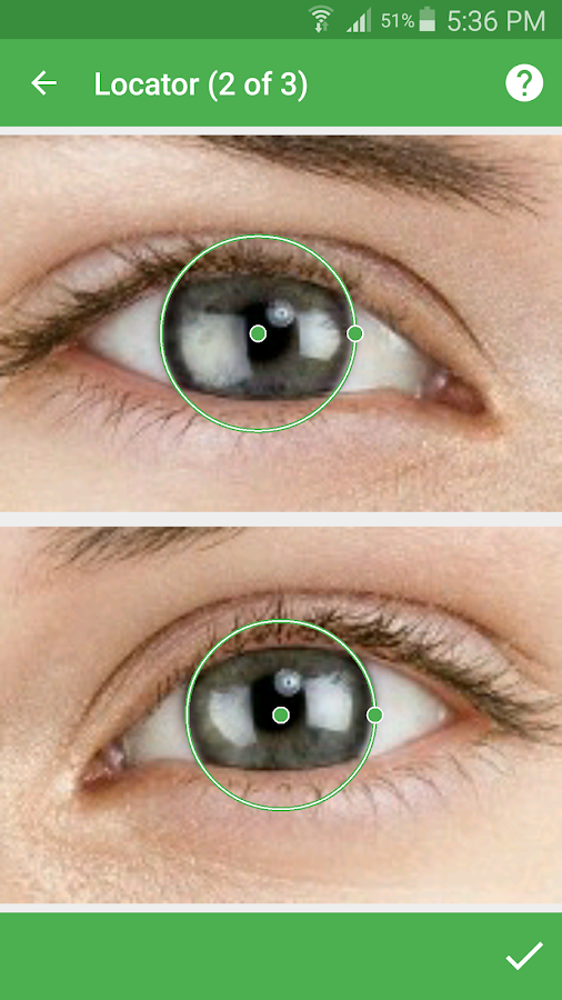 Eye Color Changer - Camera- screenshot