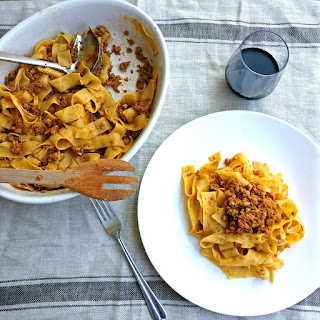Italian Bolognese Sauce - Ragù alla Bolognese.