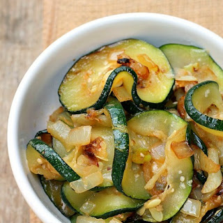 Zucchini with Onion and Garlic.