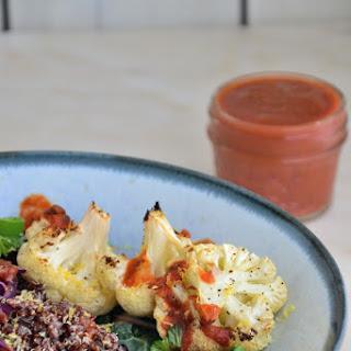 Comforting Quinoa Bowl with Tomato Sauce {Gluten-Free, Dairy-Free, Vegan}.