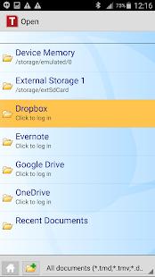 Office: TextMaker Mobile- screenshot thumbnail