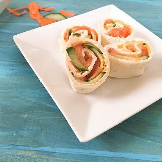 Veggie Tortilla Roll Ups