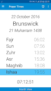 Prayer Times (Namaz Vakti) screenshot 0