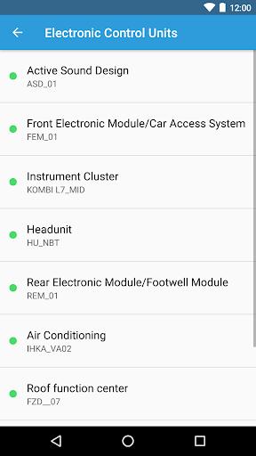 BimmerCode for BMW and Mini  screenshots 2