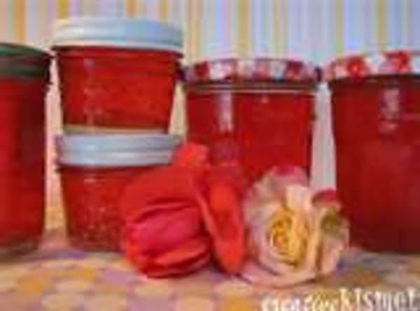 Rose Petal, Chamomile, And Lavendar Jelly