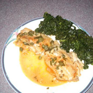 Baked Tilapia With Lemon Caper Sauce