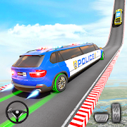 Police Limo Car Stunts Racing: New Car Games 2020