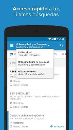 InfoJobs - Job Search  screenshots 4