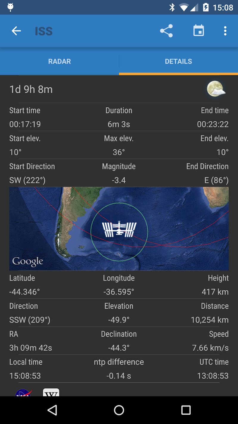 ISS Detector Pro Screenshot 3