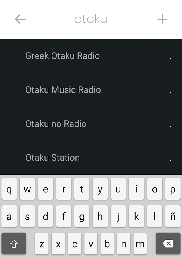 ANIME MUSIC Radios- screenshot