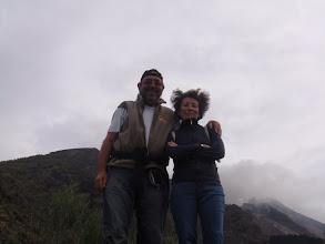 Photo: limite de la ballade sans guide, 400m d'altitude, terrasse de l'ancien observatoire