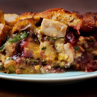 Dorie Greenspan's Next Day Turkey-and-Cranberry Sriracha Strata